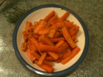 Glazed Carrots with Caraway