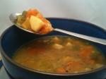 Saffron Vegetable Soup