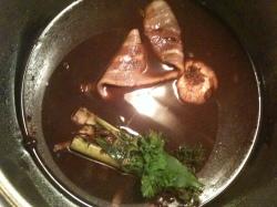 Preparing the Beef Bourguignon Sauce