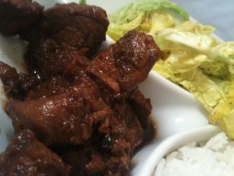 Adobo Pork in a Pickling Style
